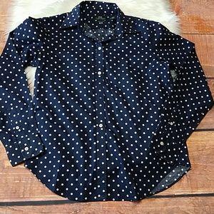 Lauren Ralph Lauren non-iron shirt blue sz s